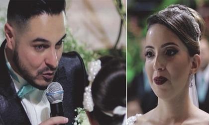 """Tại hôn lễ, chú rể nói """"Anh yêu người khác"""" khiến cô dâu và cả khách mời choáng váng"""