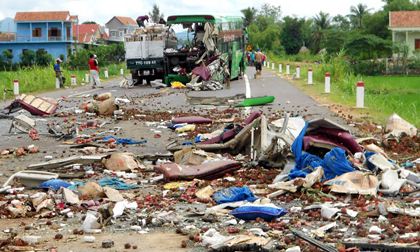 Vụ tai nạn thảm khốc khiến 5 người chết ở Bình Định: Ám ảnh tiếng kêu khóc thảm thiết