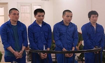 Vận chuyển hơn 20kg ma túy, 4 bị cáo cùng lĩnh án tử