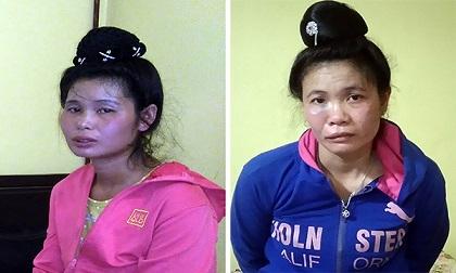 Hai sơn nữ vận chuyển 10.000 viên ma túy tổng hợp qua biên giới