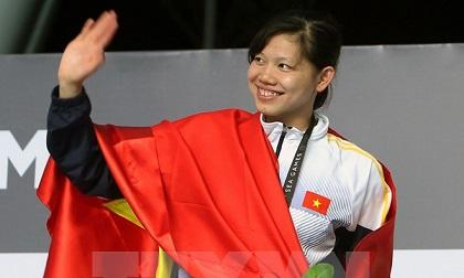 Ánh Viên có HCV thứ 3, Nguyễn Thị Huyền phá kỷ lục 400m rào nữ