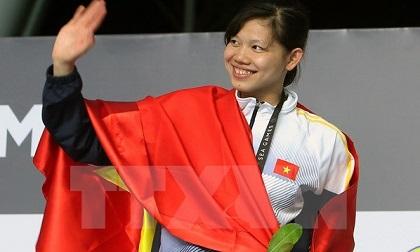 Ánh Viên nhận tin vui với tấm huy chương vàng thứ 5 tại SEA Games 29