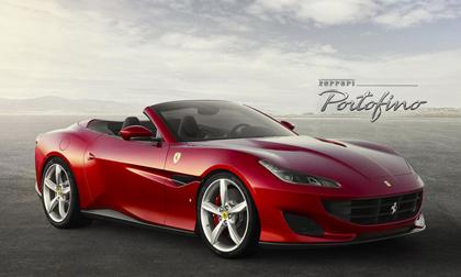 Siêu xe 'mới coóng' Ferrari Portofino bất ngờ xuất hiện