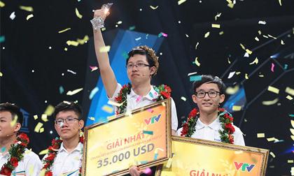 """""""Cậu bé Google"""" Nhật Minh vô địch Olympia 2017"""