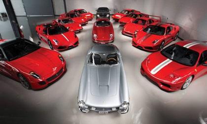 Choáng với bộ sưu tập siêu xe Ferrari hơn 300 tỷ tại Mỹ