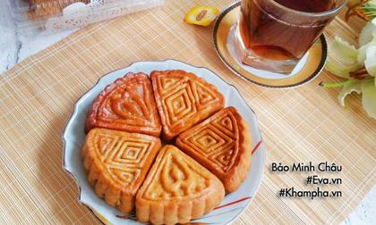 Cách làm bánh nướng nhân đậu xanh cổ truyền cúng rằm tháng 7
