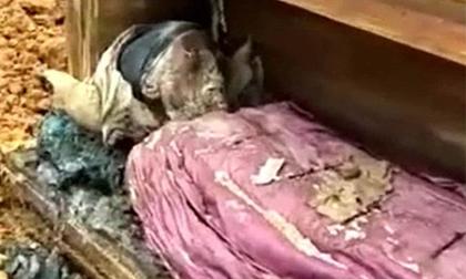 Sau vài trăm năm, xác ướp một quý tộc Trung Quốc vẫn được bảo quản nguyên vẹn đến khó tin