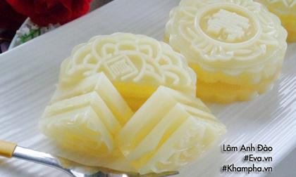 Cách làm bánh trung thu thạch rau câu vị sầu riêng ăn là thích liền