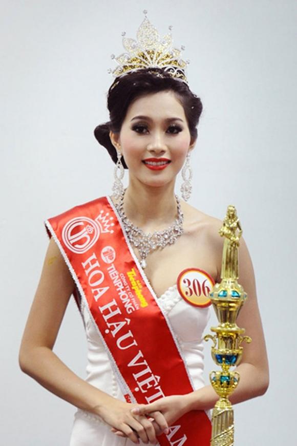 Đặng Thu Thảo trở thành Hoa hậu Việt Nam năm 2012.