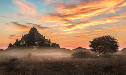 Cuộc sống như mơ tại ngôi làng thanh bình ở Myanmar