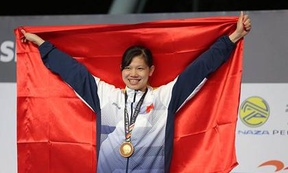Ánh Viên giành thêm chức 'vô địch' hậu SEA Games 29