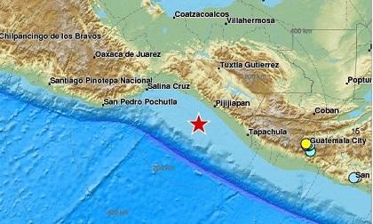 Động đất 8 độ Richter ngoài khơi Mexico, kích hoạt cảnh báo sóng thần