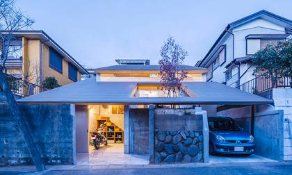 Ngôi nhà cổ Nhật Bản với kiến trúc mái lợp bằng gỗ khiến bao người phải xao xuyến