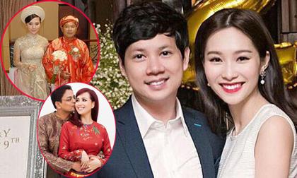 Những Hoa hậu - Á hậu Việt lấy chồng giàu có, tài giỏi đình đám showbiz Việt