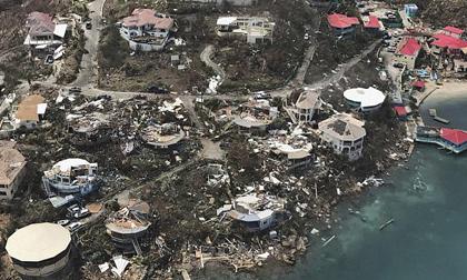 """Siêu bão Irma phá tan nát hòn đảo ở Caribe, """"giúp"""" 120 tù nhân bỏ trốn"""