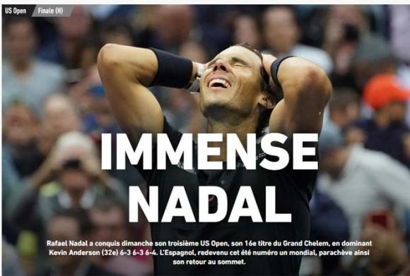"""Báo chí thế giới: """"Quái vật"""" Nadal, một năm kinh ngạc - 1"""