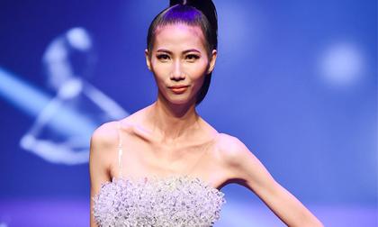 Cao Ngân lên tiếng về thân hình 'bộ xương di động' tại chung kết Vietnam Next Top Model 2017