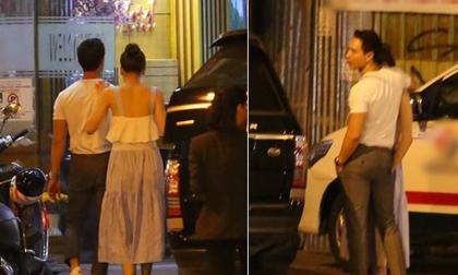 Hà Hồ - Kim Lý lại 'dính như sam', thân mật ngoài phố và cùng nhau về nhà lúc nửa đêm