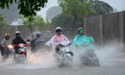Thời tiết hôm nay (11.9): Bắc Bộ tiếp tục mưa diện rộng đến ngày 12.9