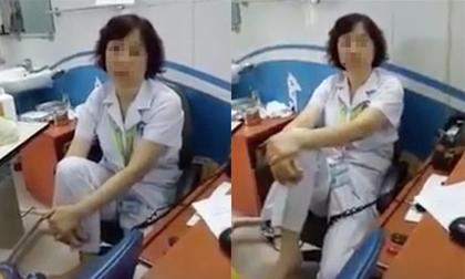 Gác chân lên ghế, nữ tiến sĩ BV Mắt bị tạm dừng chuyên môn