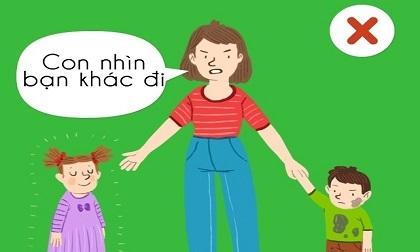 7 câu nói vô trách nhiệm phổ biến của cha mẹ mà trẻ con phải nghe hàng ngày