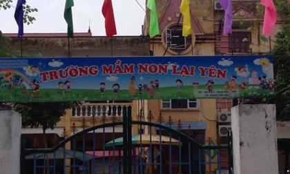 Hà Nội: 31 trẻ mầm non nghỉ học nghi do ngộ độc thực phẩm sau bữa ăn ở trường
