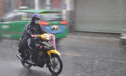 Thời tiết hôm nay (17.9): Hoàn lưu sau bão số 10, từ Thanh Hóa trở ra miền Bắc mưa như trút, lũ trên các sông lên nhanh