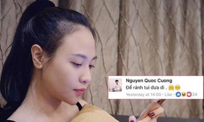 Cường Đô la lại tán tỉnh Đàm Thu Trang khiến cư dân mạng 'nháo nhào'