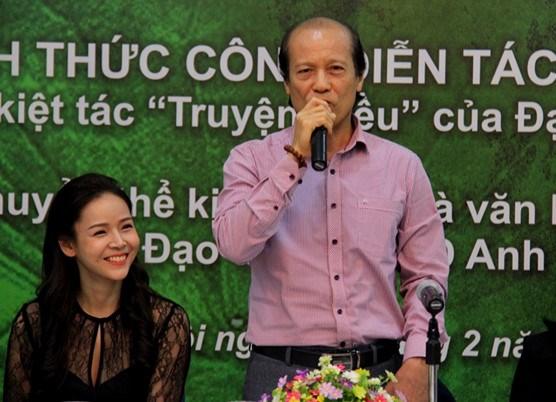 NSND Lan Hương dọa sẽ giận ông Nguyễn Thế Vinh- Giám đốc Nhà hát Kịch Việt Nam