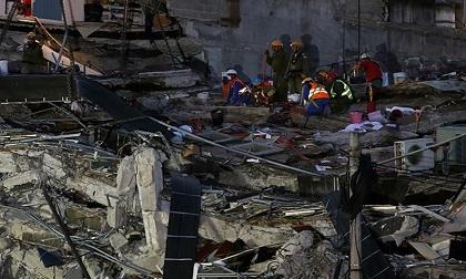 Mexico chao đảo vì trận động đất cực mạnh lần thứ 3 trong tháng 9