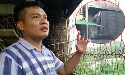 """Cháy nhà ở Hà Nội, 2 bé gái tử vong: """"Tiếng kêu của trẻ lịm dần, mọi người đành bất lực"""""""