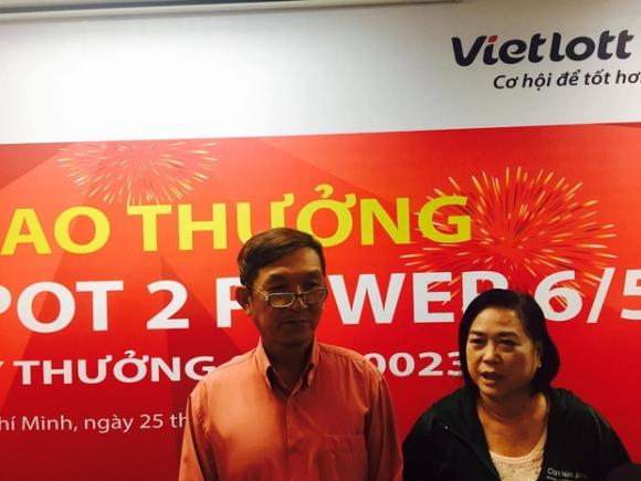 Người thứ 3 trúng Vietlott công khai danh tính ở Sài Gòn - Ảnh 1.