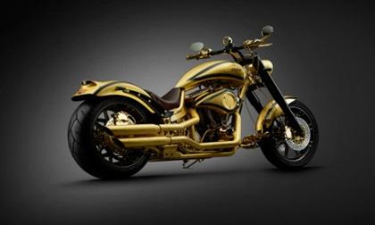 Ngắm xem máy Harley Davidson nạm 250 viên kim cương giá 19,3 tỷ đồng