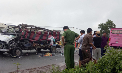 Ảnh: Hiện trường khủng khiếp vụ tai nạn 6 người chết ở Tây Ninh
