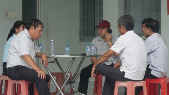 Lãnh đạo huyện Dương Minh Châu họp bàn , hỗ trợ các nạn nhân trong vụ tai nạn ở Tây Ninh.