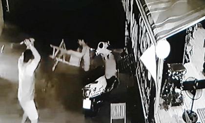 Camera ghi hình nhóm côn đồ truy sát người đàn ông ở Sài Gòn
