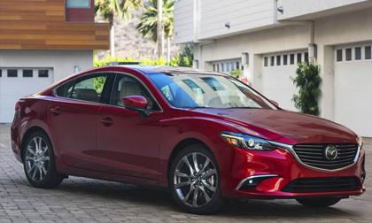 Mazda6 2017.5: Bản nâng cấp vội vã, giá từ 500 triệu đồng