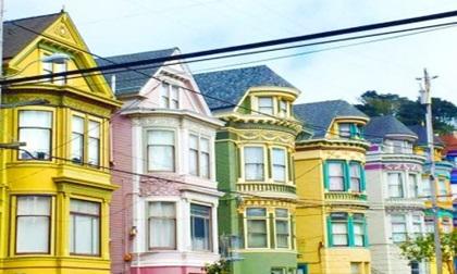 """Mê mẩn ngắm những ngôi nhà """"bảy sắc cầu vồng"""" rực rỡ tại San Francisco"""