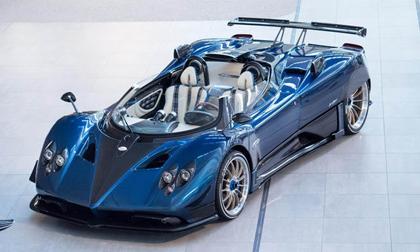 Chiêm ngưỡng siêu xe hiếm Pagani Zonda HP Barchetta