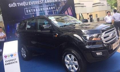 Ford Everest sắp thêm bản ô tô số sàn ở Việt Nam, giá bán dưới 1 tỷ