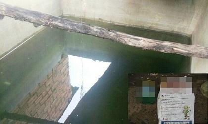 Đổ thuốc trừ sâu vào bồn nước hòng giết cả gia đình vợ hờ do mâu thuẫn, bị đuổi khỏi nhà