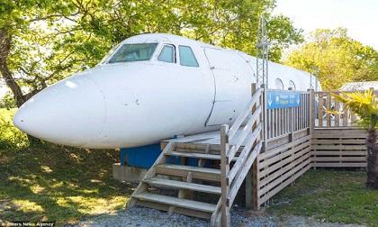 Ngỡ ngàng chuồng ngựa, máy bay hóa thành nơi nghỉ dưỡng đẹp xuất sắc
