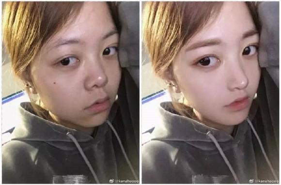 Sốc lên tận óc với gương mặt thật của gái xinh trên mạng - 2