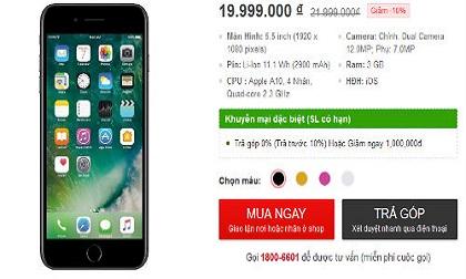 NÓNG: iPhone 7 Plus giảm 2 triệu đồng tại Việt Nam