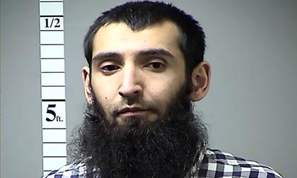 Nghi phạm đâm xe New York bị buộc tội khủng bố