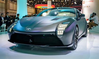 Toyota GR HV Sports: Xe 2 cửa mui trần đặc sắc