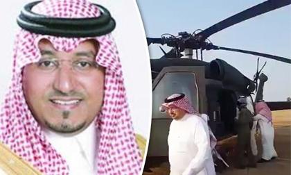 Một hoàng tử Saudi Arabia thiệt mạng do tai nạn máy bay ở biên giới Yemen