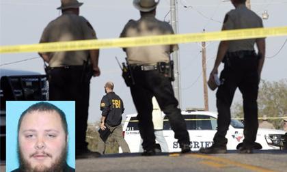 Hé lộ bất ngờ về hung thủ vụ xả súng nhà thờ Texas