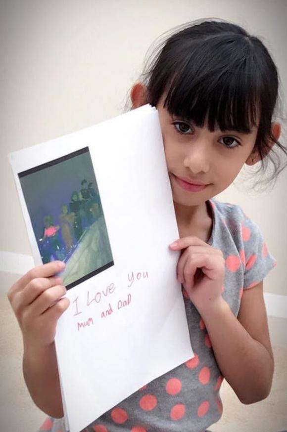 Nhìn hình ảnh đáng yêu này, có ai ngờ rằng cô bé đã bị chính cha ruột sát hại dã man - Ảnh 1.