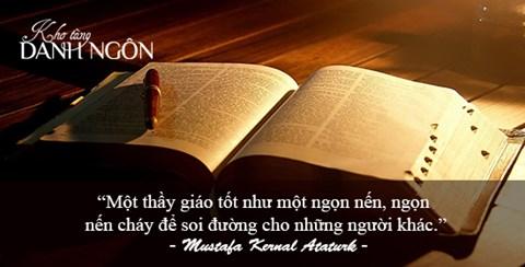 Những câu danh ngôn hay và ý nghĩa nhất về nghề giáo - 2